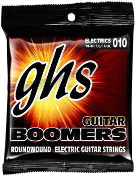 GH5037 GHSGBL Roundwound Electric Guitar Strings 10/46
