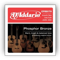 DA5062 D'Addario EPBB170 Acoustic Bass LS Strings, .045 - .100