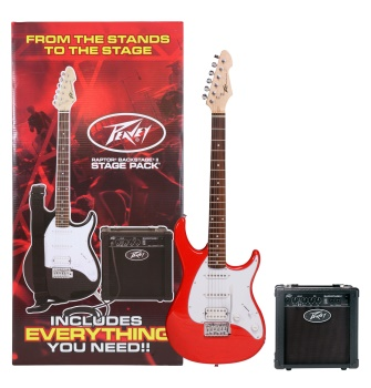 3585300 Peavey Red Stage guitar Pack