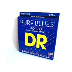 DR5515 DR Pure Blues Quantum Nickel 40-100 Bass Strings