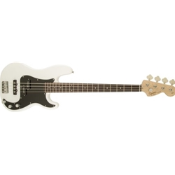 310500505 Fender Squier Affinity Series Precision 4 String Bass, White