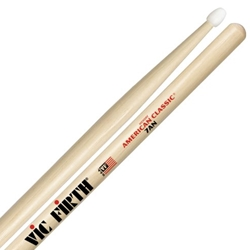 VicFirth 4228 Vic Firth 7AN American Classic Nylon Tip Hickory Sticks, Pair