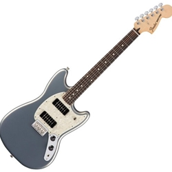 144040581 Fender Standard Mustang 90 RW Electric Guitar, Silver