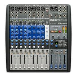 4446 Presonus SLMAR12, 14-Channel Hybrid Mixer with Effects