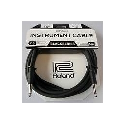 "Roland RIC-B15 15ft Instrument 1/4"" Straight Cable"