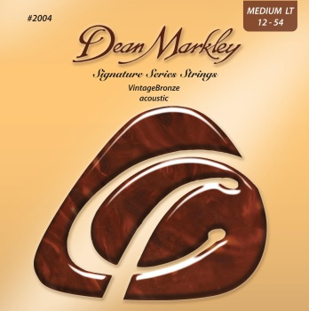 3367 .Dean Markley 2004 Vintage Bronze Acoustic Guitar Strings, .012 - .054