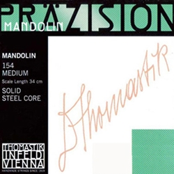 Prazision 4215 Prazsion Mandolin 154 Medium Flat Wound Mandolin Strings