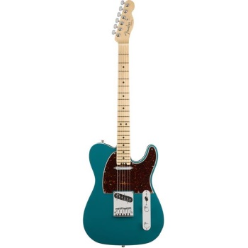 0114212708 Fender American Elite Telecaster - Ocean Turquoise with Maple Fingerboard