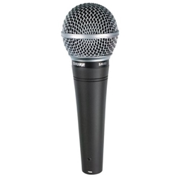 7558 Shure SM48-LC Vocal Microphone