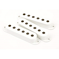 Fender 0992034000 Feder White Pickup Covers Strat