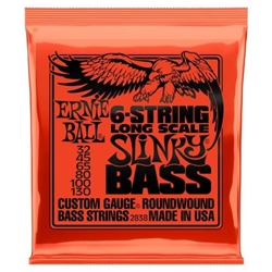 7694 Ernie Ball 2838 Slinky Nickel Round Wound 6-String Electric Bass Strings