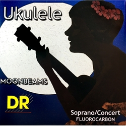 7562 DR Strings USMC Moonbeams Soprano/Concert Fluorocarbon Ukulele Strings