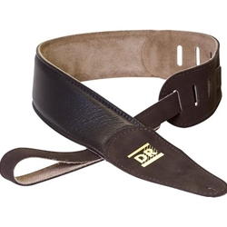 8002 DR Thick Padded Leather Strap Brown 8-500BR