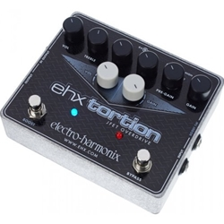Electro-Harmonx 4637 Electro-Harmonix EHXTortion JFET Overdrive Guitar Effects Pedal