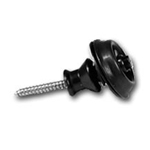 79480 Peavey Black Strap Locks, Pair