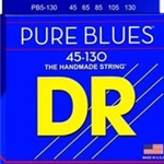DR5065 DR PB45-130 Pure Blue Quantum Nickel 5 String Bass Strings