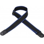 5207 LEVY'S M8POLY-BKB 2 INCH GUITAR STRAP
