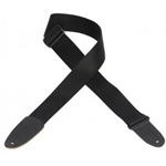5210 LEVY'S M8BLK GUITAR STRAP 2 INCH