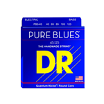 DR5066 DR PB45-125 Pure Blue Quantum Nickel 5 String Bass Strings