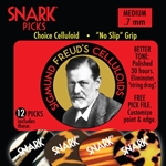 SNARK5381 Snark .5mm Laser Cut No Slip Picks (12 pack)
