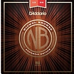 5414 D'Addario NB1356 Medium Gauge Nickel Bronze Acoustic Guitar Strings, .013 - .056