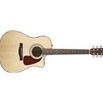 5669 Fender CD-140SCE Natural Acou/Elect Guitar