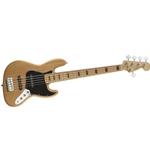 306702521 Fender Squier Vintage Modified Jazz 4 String Electric Bass, Natural