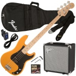 301672050 Fender R15V3 P-Bass Starter Pack, Brown Burst