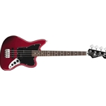 328800509 Fender Squier Vintage Modified Jaguar Special SS 4 String Bass, Candy Apple Red