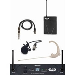 5280 CAD WX1610 Wiresess StagePass Head Set and Lapel