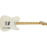 145102580 Fender Standard Telecaster Electric Guitar, White
