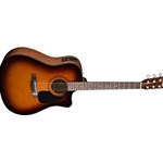 961536232 Fender CD-60CE Sunburst Acou/Elect Guitar w/Hard Shell Case