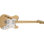 301280521 Fender Squier Vintage Modified 72 Thinline Telecaster, Natural