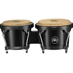 4031 Meinl HB50BK 6-1/2 +7-1/2 ABS Bongo Plus, Black