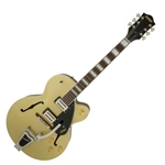 2800600544 Gretsch G2420T STRM HLW W/Bigsby Electric Guitar, Gold Dust