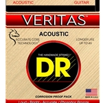 5276 DR VTA-10 Veritas Phosphor Bronze Acoustic Guitar Strings, .010-.048