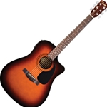 962704232 Fender CD-140SCE Acou/Elect Guitar, Sunburst