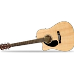 0961706021 Fender CD-60SCE Left Handed Acoustic Electric, Natural