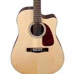 0962704221 Fender CD-140sce Acoustic Electric Guitar w/Hard Shell Case, Natural