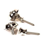 4327 Peavey Chrome Strap Locks