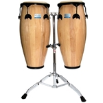 6112 Rhythm Tech RT5500 Twin Congos with Stand