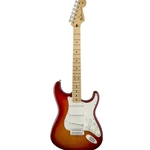 0144612531 Fender Standard Stratocaster Plus Top - Aged Cherry Burst with Maple Fingerboard, Electr