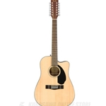 0961707021 Fender CD-60SCE 12-String Natural