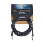 "7895 Rockboard RBO CAB FL 600BLK SS Flat Lead  Instrument Cable,  600 cm / 236.22"", straight / stra"