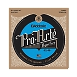 DA5001 D'Addario EJ46 Hard Tension Classic Guitar Strings,  .0285 - .044