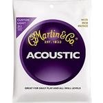 MA5027 Martin MA175 80/20 Bronze Acoustic Guitar Strings, .011 - .052