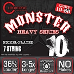 CL5509 Cleartone Monster Heavey Series Treated electric Guitar Strings,.010-.046