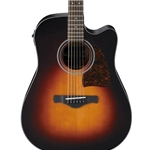 5314 Ibanez AW400CEBS Acoustic Guitar
