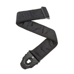 5411 D'Addario 50PLB01 Black Satin Locking Strap