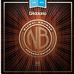 5417 D'Addario NB1047 Extra Light Nickel Bronze Acoustic Guitar Strings, .010 - .047